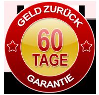 60 Tage Geld-Zurück-Garantie auf gesamtes 13-teiliges Effizienz-Komplettset