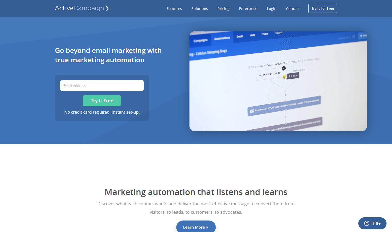 Email System für automatische Newsletter