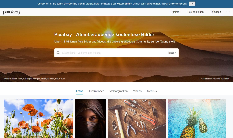 Pixabay - lizenzfreie Bilder
